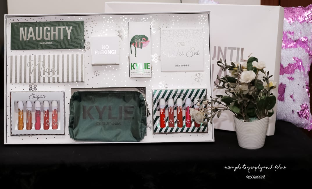 Kylie Naughty make up complete range