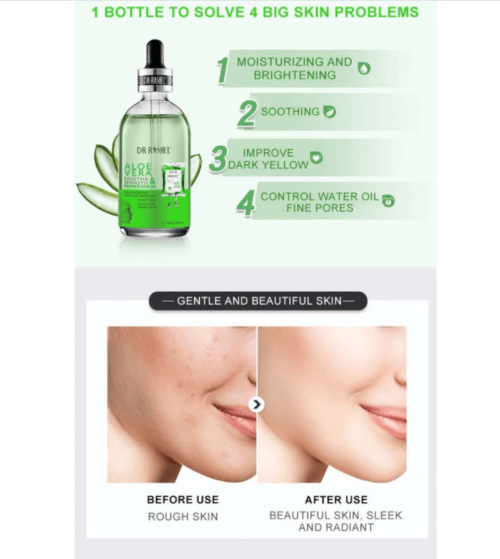 Dr. Rashel Aloe Vera Soothe & Smooth Primer Serum