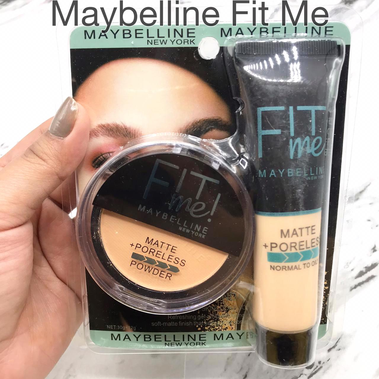 2 in 1 Face Powder And Foundation set