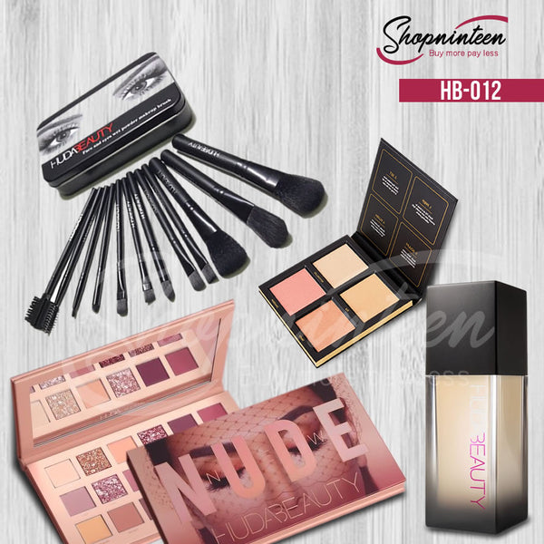 HUDA-FOUNDATION-BRUSHSET-HIGHLIGHTER-EYESHADOW HB-012