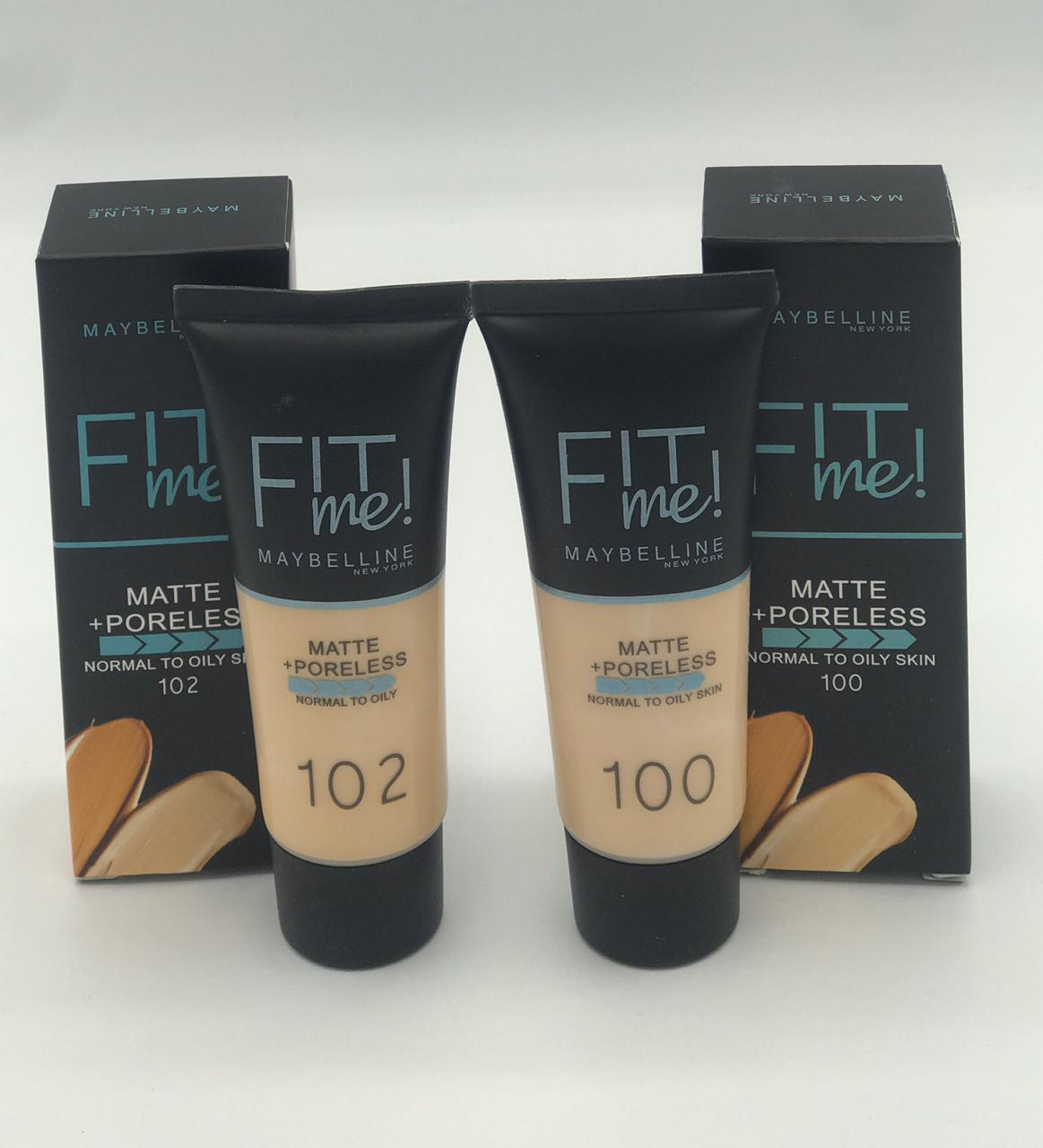 Fit Me Matte Foundation Tube