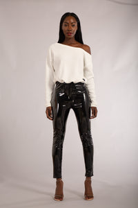 Wholesale Wet Look Shiny Trousers