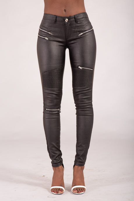 Wholesale Celeb Style Leather Trousers
