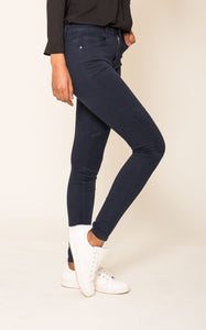 Wholesale Navy Blue High Waised Jeans