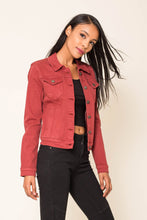 Load image into Gallery viewer, Wholesale Brick Jeans Jacket