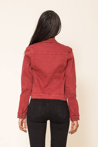 Wholesale Brick Jeans Jacket