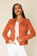 Load image into Gallery viewer, Wholesale Terracotta Jeans Jacket