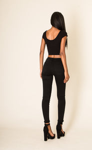 Wholesale Black Stretch Skinny Jeans