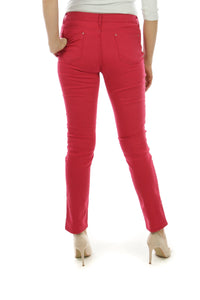 Wholesale Red Straight Cut Jeans