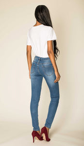 Wholesale Blue Ripped Jeans