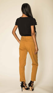Wholesale Mustard Straight Cut Trousers