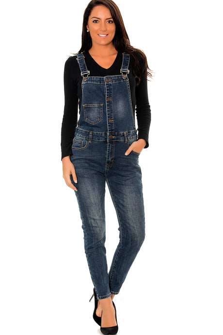 Wholesale Blue Jeans Jumpsuit