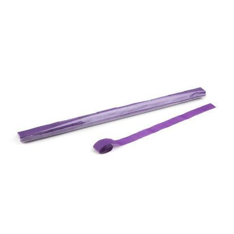 Paper Streamers 10m x 2.5cm - Purple