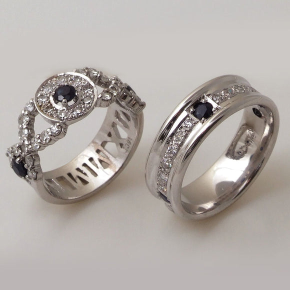 Kacie's and Jessi's Wedding Rings - K. Amani Fine Jeweller