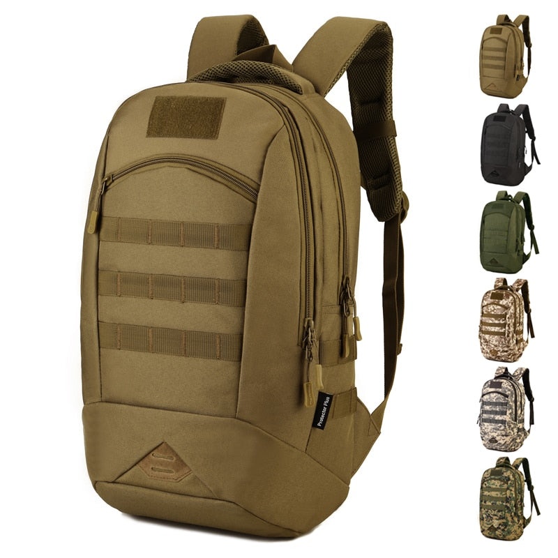 Camo Waterproof Nylon Backpack