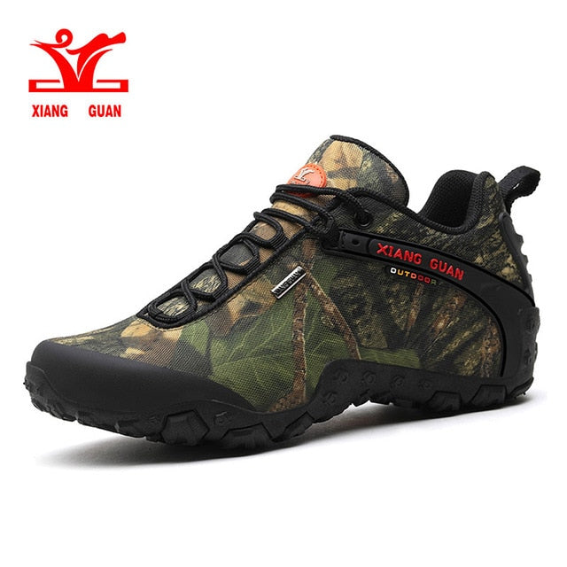 Camouflage Hiking Shoes