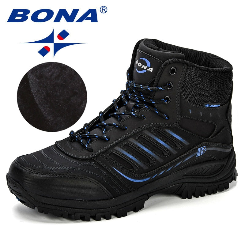 BONA Men Hiking Shoes