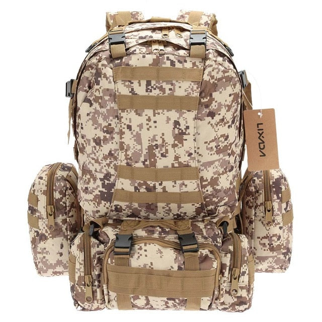 50L Outdoor Military Backpack
