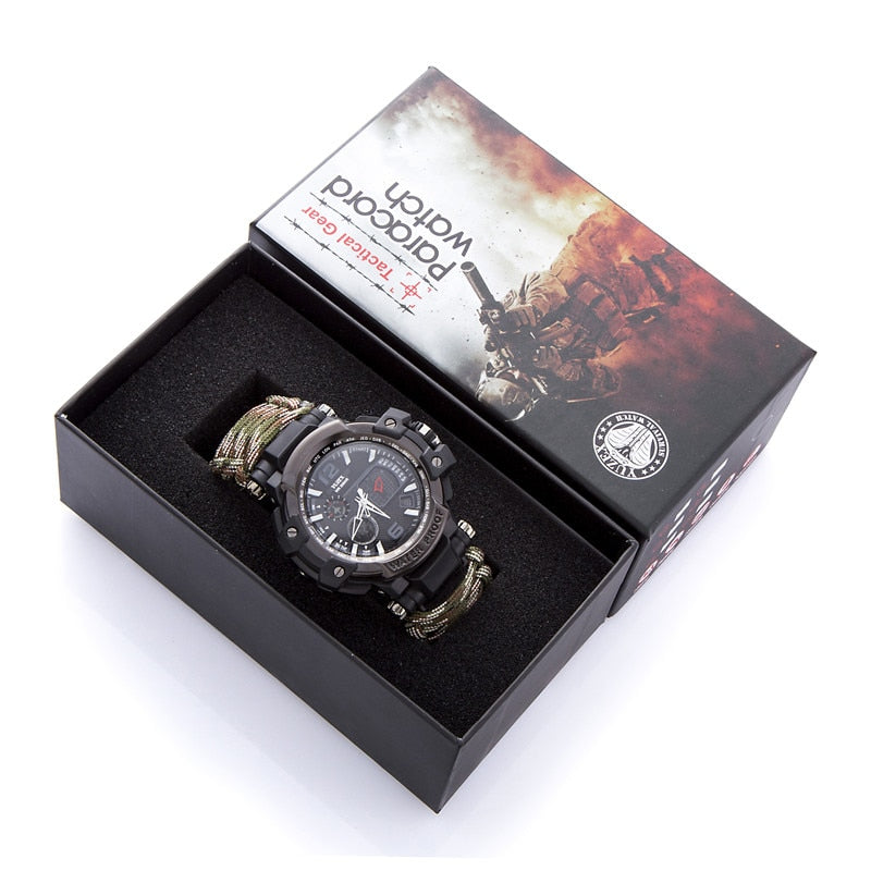 New Outdoor Survival Watch