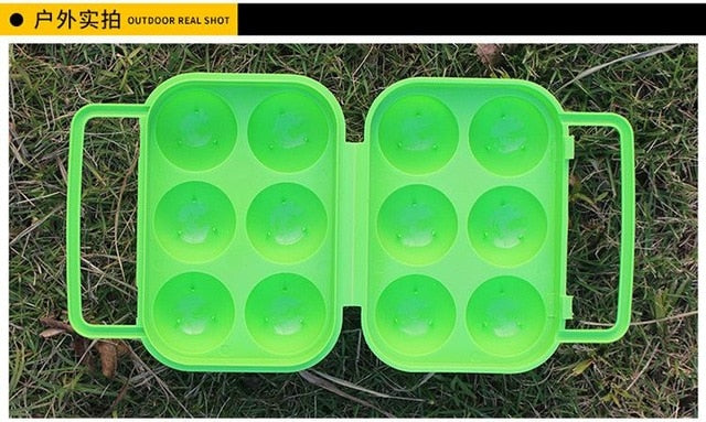 Portable Camping Egg Box