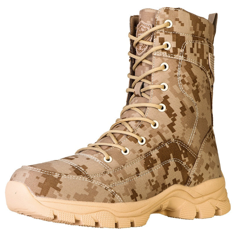 Men's Tactical Camo Boots