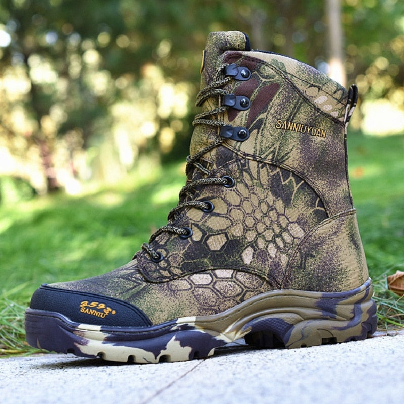 Men Hunting Boots