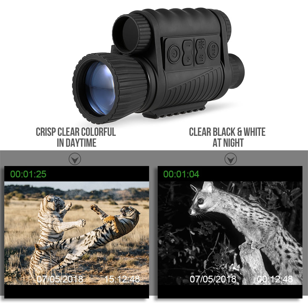 6X50 Digital Night Vision Monocular Zoom