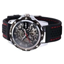 Load image into Gallery viewer, CHALLENGER - sports skeleton watch for men singapore side view