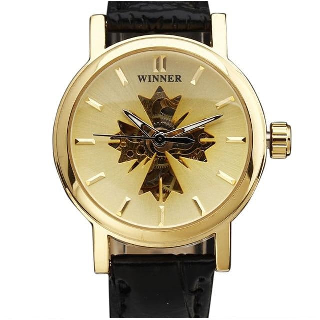 gold and black ladies fashion watch singapore