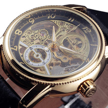 Load image into Gallery viewer, TRAVELLER - luxury skeleton mechanical watch UK
