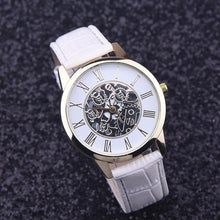 Load image into Gallery viewer, essential white strap full image - elegant affordable watches singapore