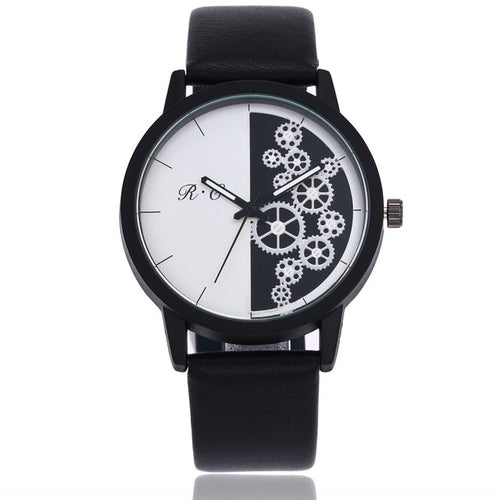 gears fashion watches for women online singapore - black and white