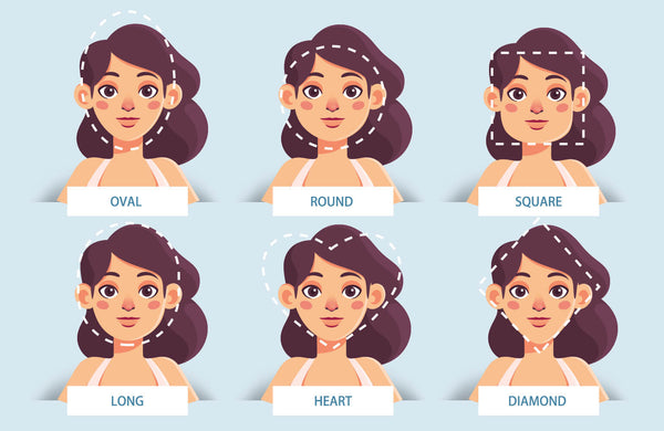 Determine your faceshape and find your flatering wig style