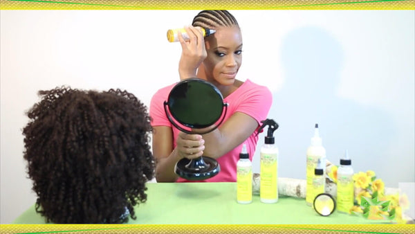 how to appy a scalp protection serum