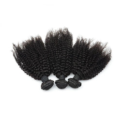 100% human virgin 7a kinky curly hair bundle