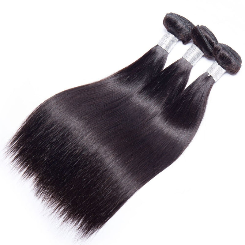 100% human virgin straight hair bundle
