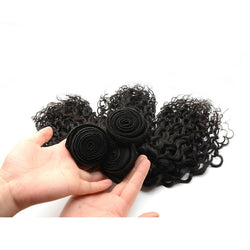100% human virgin 8a deep curl hair bundle