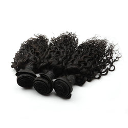 100% human virgin braid deep curl hair bundle