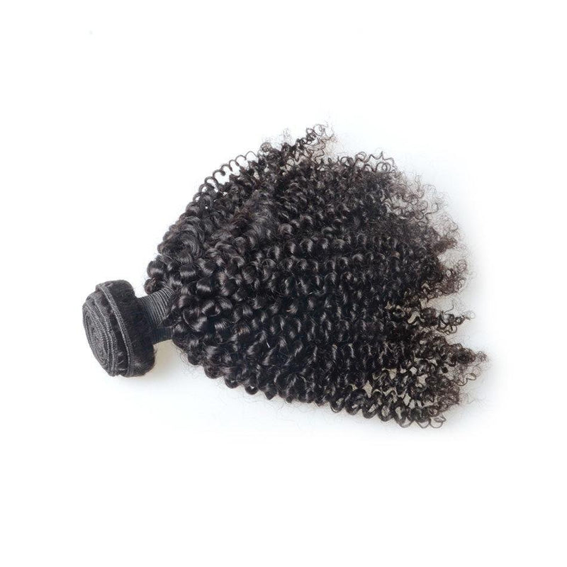 100% human virgin 8a kinky curly hair bundle