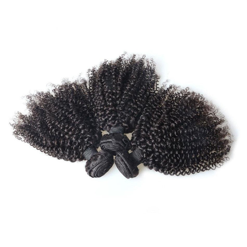 100% human virgin braid kinky curly hair bundle