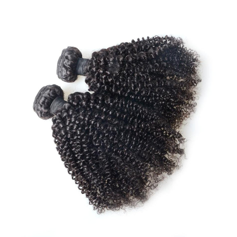 100% human virgin 9a kinky curly hair bundle