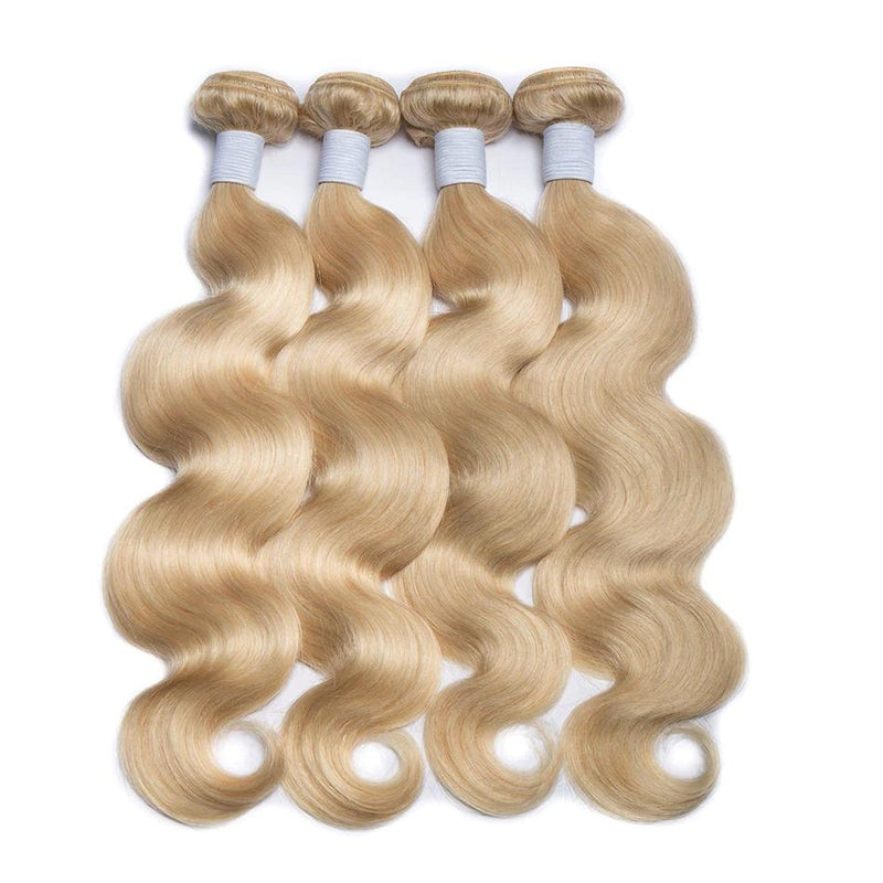 Body Wave Blonde 4 Human Hair Bundles