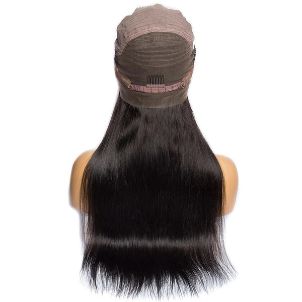 Pre-Plucked Straight 360 Lace Frontal Wig-2