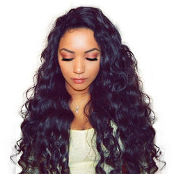 Silk Base Loose Wave Full Lace Wig-1