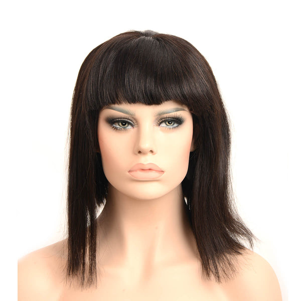 black wigs with bangs