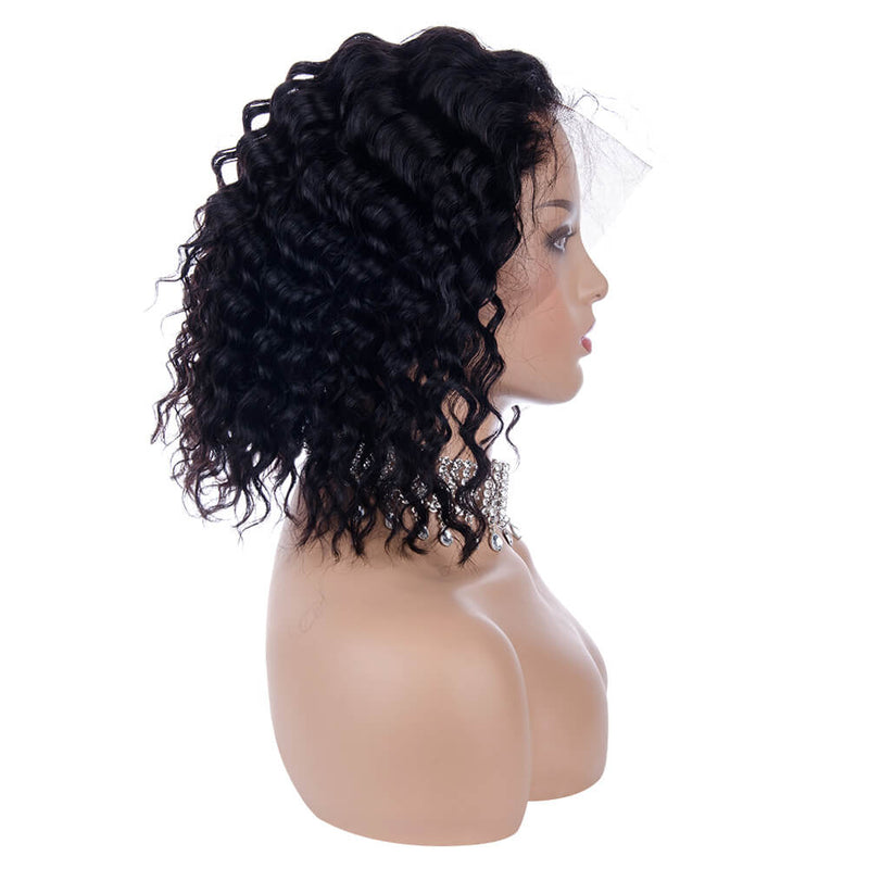 Deep Wave Bob Wigs Right Side
