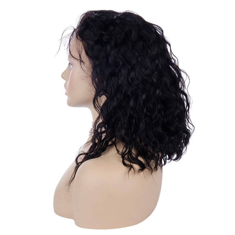 Loose Curly Full Lace Wig Human Hair Left Side | MARVELOUS