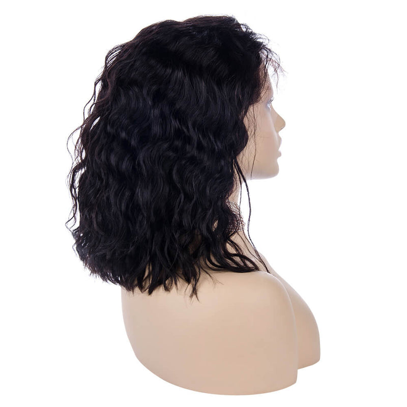 Loose Curly Full Lace Wig Human Hair Right Side | MARVELOUS