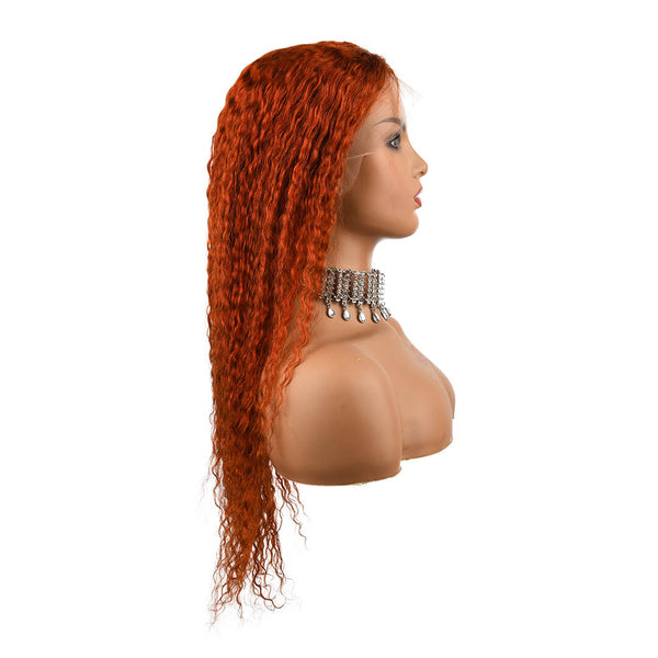 orange curly wig - showtime