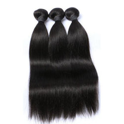 100% human virgin 10a straight hair bundle